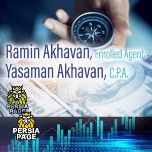Ramin Akhavan, Enrolled Agent