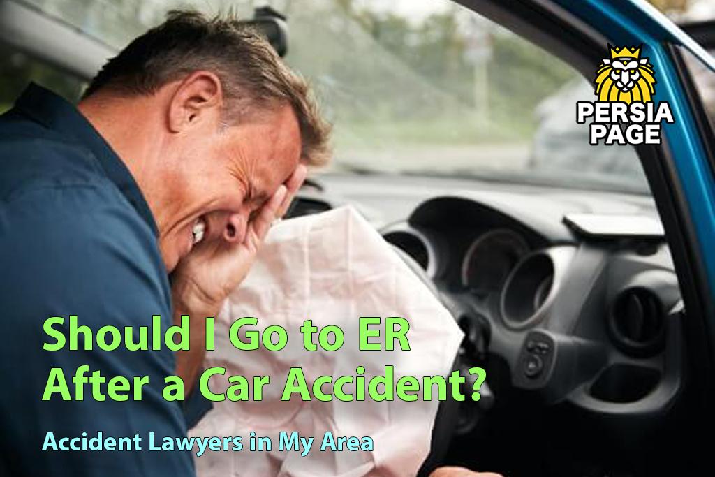 Should I Go to ER After a Car Accident