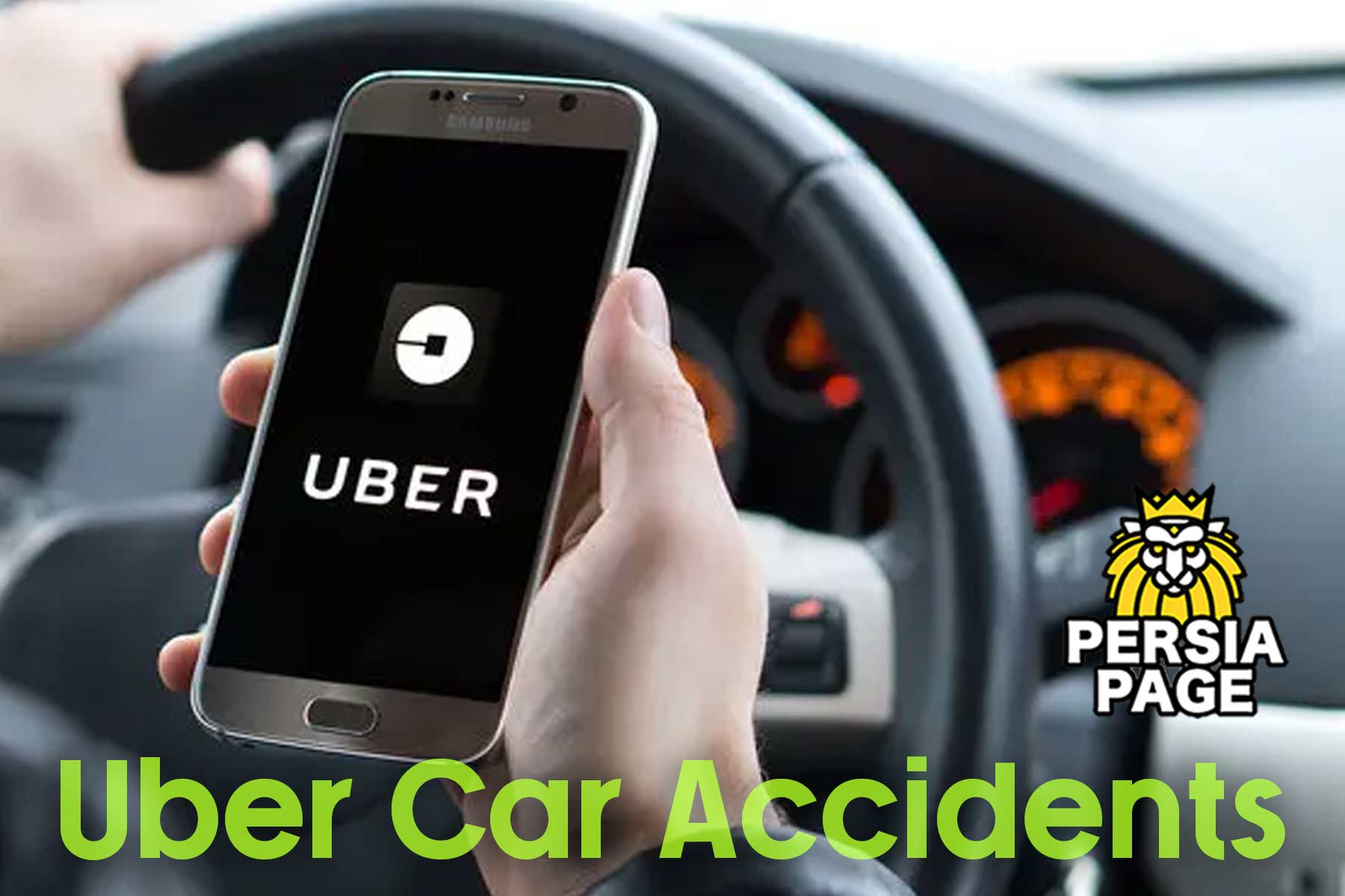 uber car accidents, Persiapage